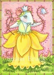 Art: DAFFODIL COUTURE by Artist Susan Brack