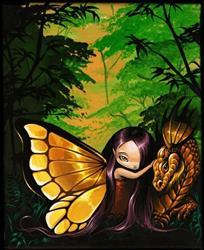 Art: Little Gold by Artist Nico Niemi