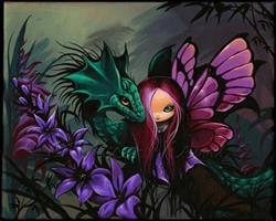 Art: Misty Magical Pair by Artist Nico Niemi