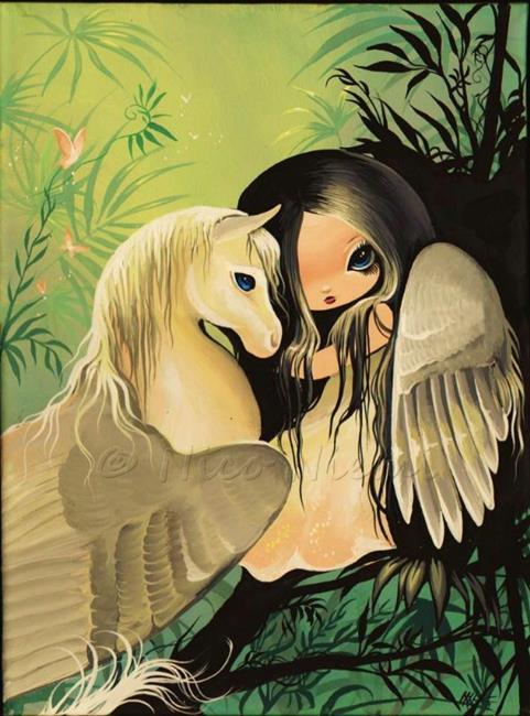 Art: Feathered Wings by Artist Nico Niemi