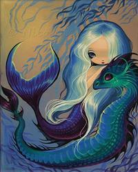 Art: Sweet Sea Pair by Artist Nico Niemi