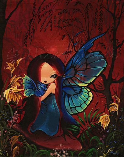 Art: Fairy Dragonfly by Artist Nico Niemi