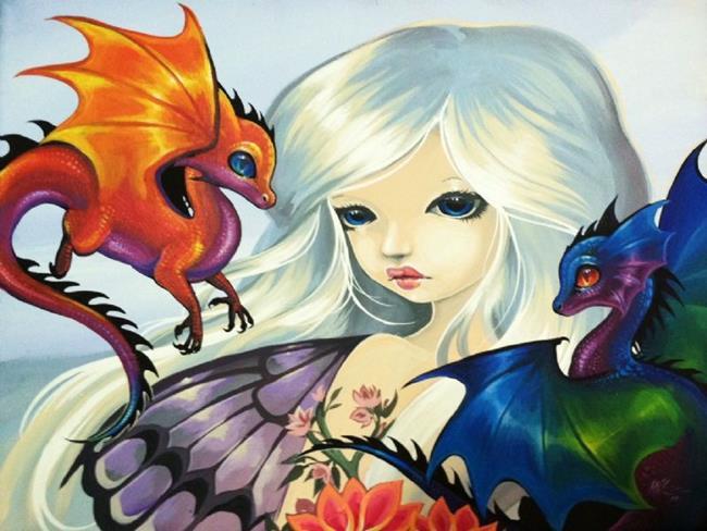 Art: My Dragonettes by Artist Nico Niemi