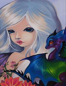 Detail Image for art My Dragonettes