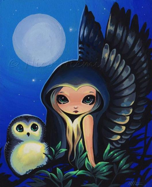 Art: Moon Wings by Artist Nico Niemi