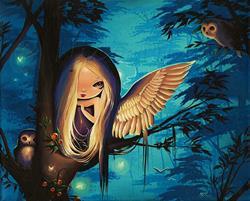 Art: Night Glow by Artist Nico Niemi