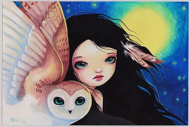 Art: Moondreams by Artist Nico Niemi