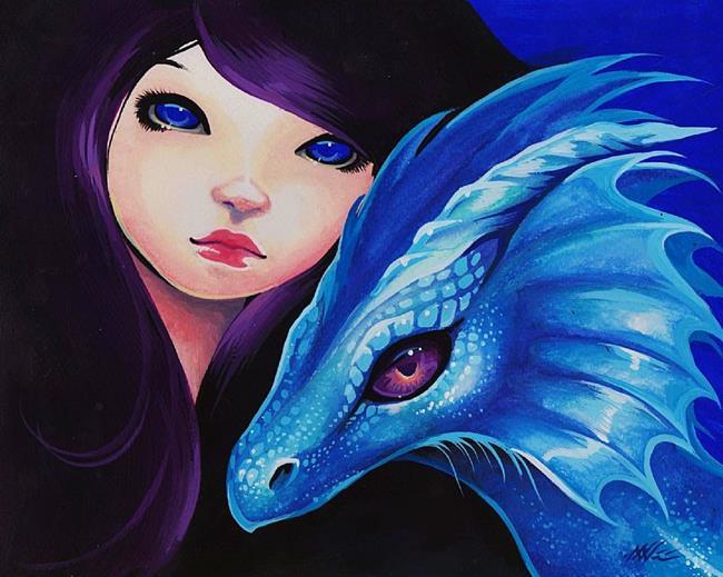 Art: Electra Blue by Artist Nico Niemi
