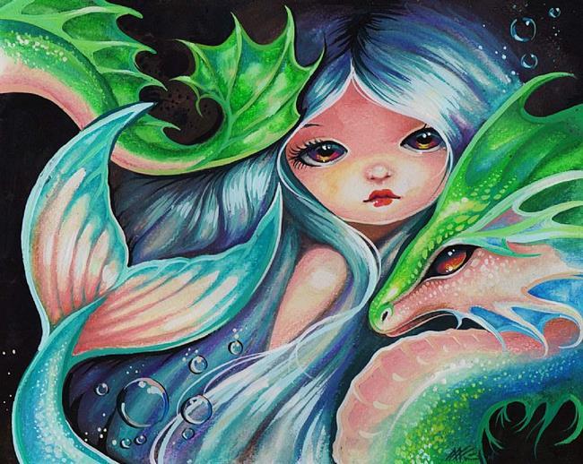 Art: Undersea Pair by Artist Nico Niemi