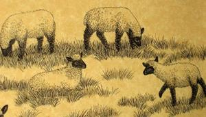 Detail Image for art Sheep Meadow (SOLD)