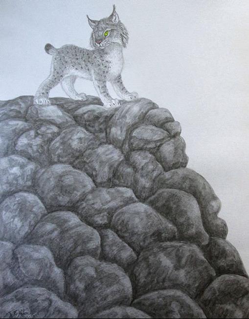 Art: Rock Topping by Artist Jackie K. Hixon
