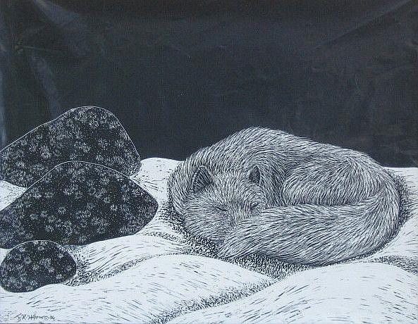 Art: Naptime by Artist Jackie K. Hixon