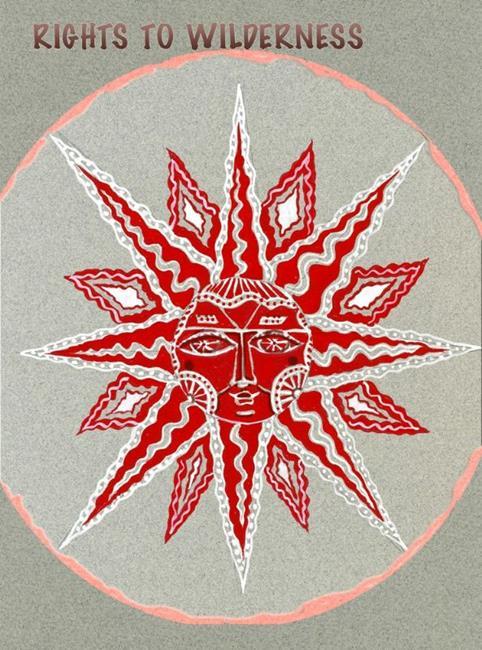 Art: Mandala,Rights to Wilderness by Artist Naquaiya