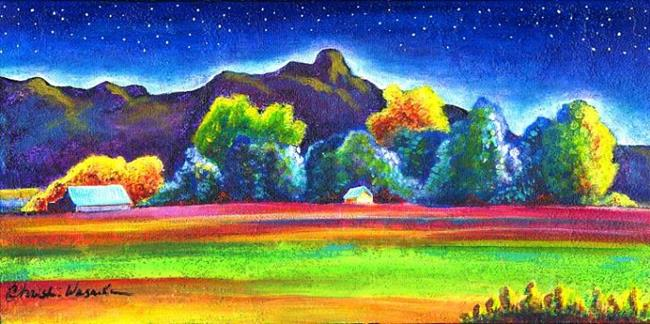 Art: Along Plum Creek by Artist Christine Wasankari