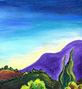 Detail Image for art This Side of Angel Fire ~ High Road Series