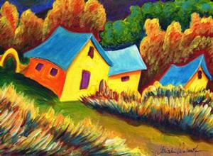 Detail Image for art Ranch House Del Norte'