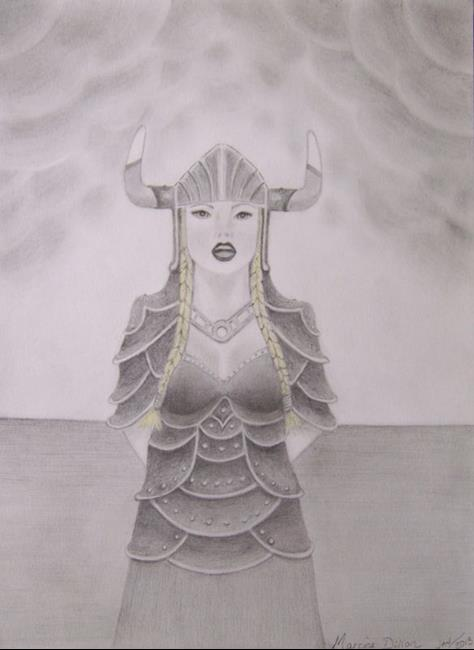 Art: Singing Asynjur by Artist Marcine (Marcy) Dillon