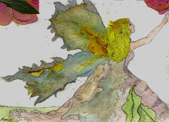 Art: Iris-Winged Faerie by Artist Marcine (Marcy) Dillon