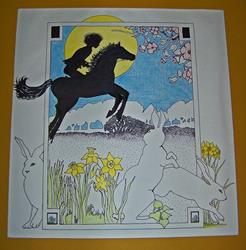 Art: Riding in the Spring by Artist Marcine (Marcy) Dillon