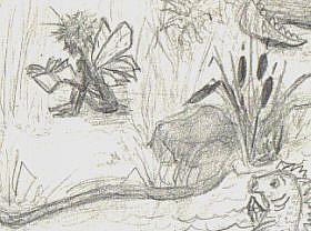 Detail Image for art Journal - fantasy idea's
