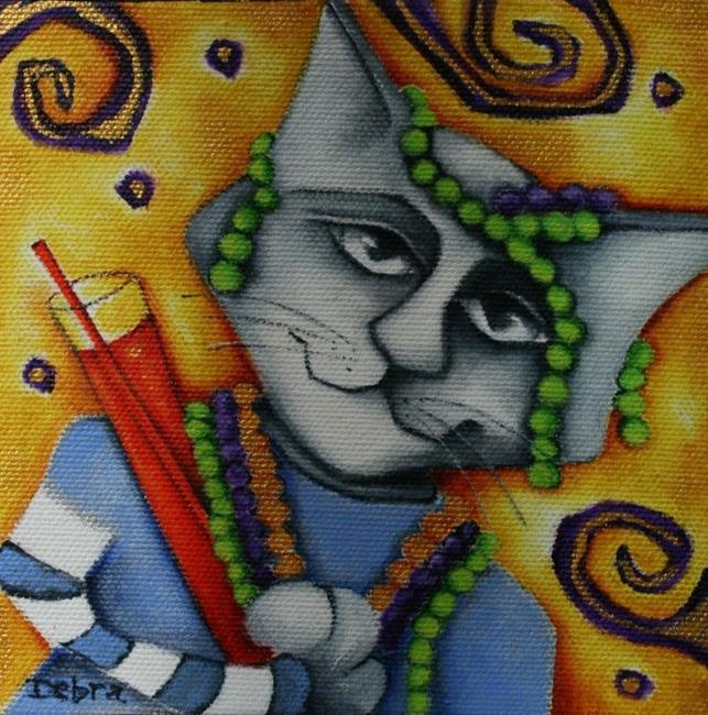 Art: Celebrating Mardi Gras by Artist Deb Harvey