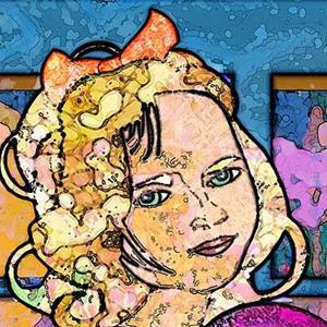Detail Image for art Glimmering Girl