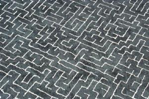Detail Image for art Grey Maze
