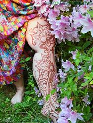 Art: In Bloom Among the Azaleas by Artist Wendy L Feldmann