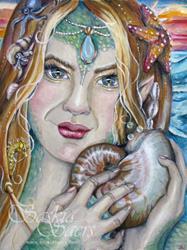 Art: Secret of the Shell by Artist Saskia Franken-Saers