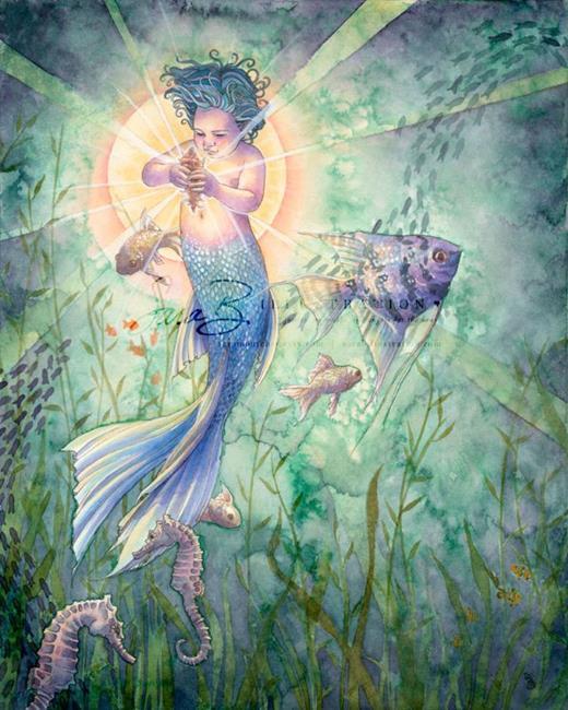 Art: The Talisman by Artist Sara Burrier