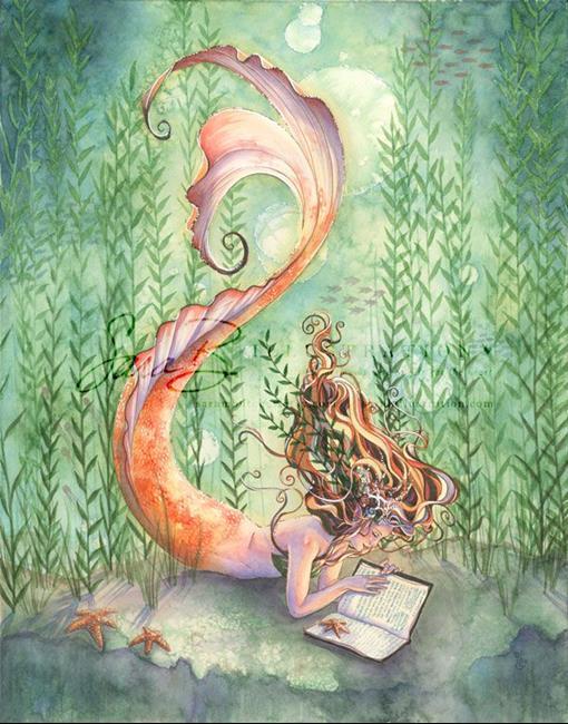 Art: Quiet Time by Artist Sara Burrier