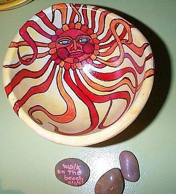 Art: Rubicund Sun  by Artist Marina Owens