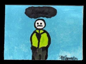 Detail Image for art Dark Cloud (sold)