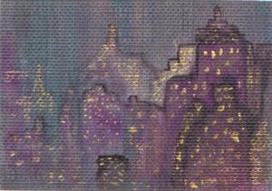 Detail Image for art City Scape ATC (sold)