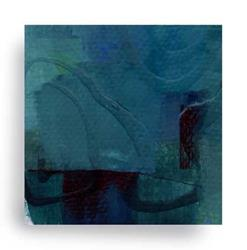 Art: Mini Abstract Oil 5 by Artist Kathy Morton-Stanion