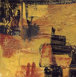 Art: Mini Abstract Oil #21 by Artist Kathy Morton-Stanion