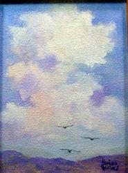 Art: Clouds by Artist Barbara Haviland