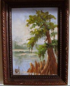 Detail Image for art miniature Cypress Tree