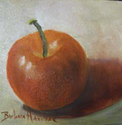 Art: Apple   by Artist Barbara Haviland