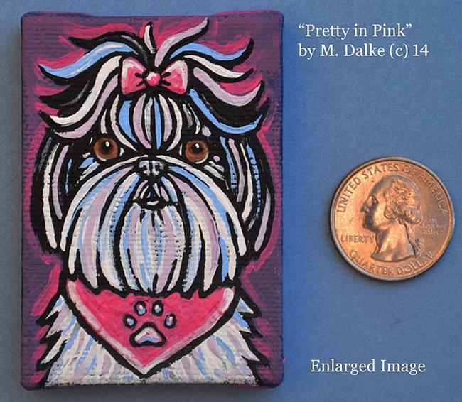 Art: Pretty in Pink by Artist Melinda Dalke