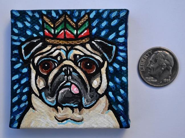 Art: King P by Artist Melinda Dalke