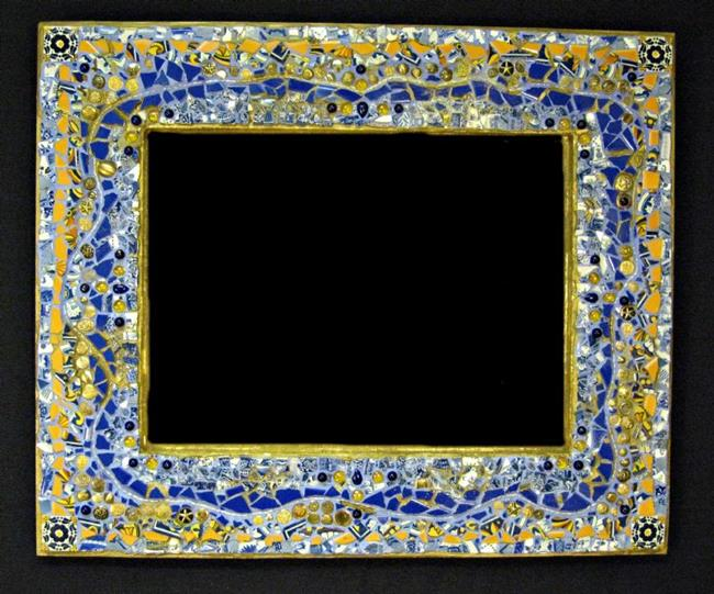 Art: Matt's Mirror Frame (sold) by Artist Dorothy Edwards