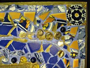 Detail Image for art Matt's Mirror Frame (sold)
