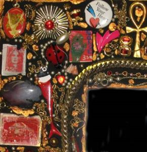 Detail Image for art Match Book Mirror (sold)
