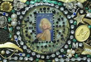 Detail Image for art Marilyn Monroe Mirror (sold)