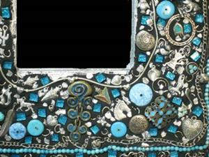 Detail Image for art Turquoise Mirror (available)