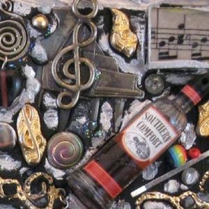 Detail Image for art Janis Joplin Mirror (sold)
