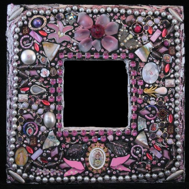 Art: Milady's Mirror (available) by Artist Dorothy Edwards