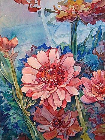 Art: Anemone Bulbs by Artist Lori Rase Hall