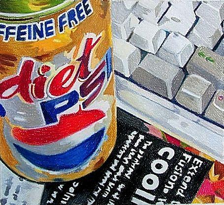 Art: Pepsi Break by Artist Lori Rase Hall